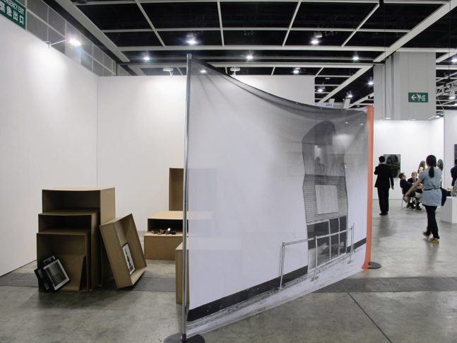 Installation view, solo presentation, Discoveries with Rokeby Gallery, Art Basel, Hong Kong 2014