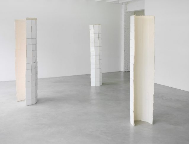 Installation view at the start of the exhibition <i>All My Mistakes I Made For You</i>, Gallery Opdahl, Berlin, 2011