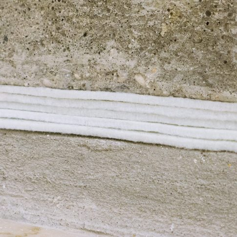 Stairs, felt (Bologna) (detail)