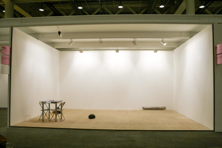 <i>Booth (Basel)</i><br> Installation view