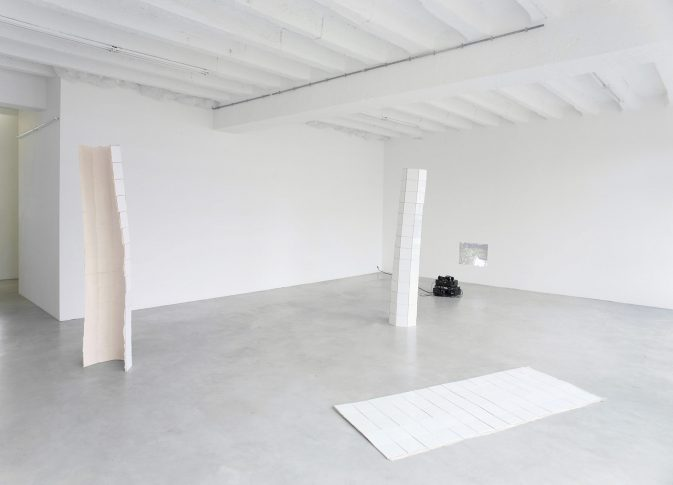 Installation view at the end of the exhibition <i>All My Mistakes I Made For You</i>, Gallery Opdahl, Berlin