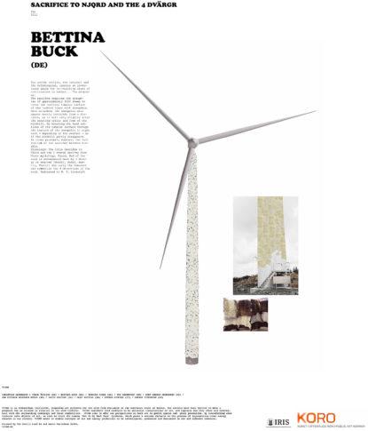 BettinaBuck VVIND Poster