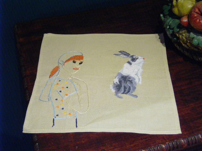 Embroidery Hase