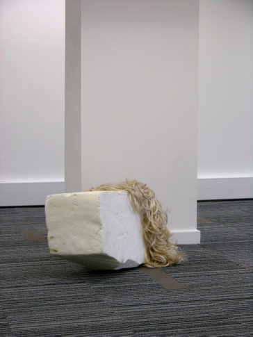 <i>Fallen</i><br>Installation view <i>Stuff,</i> curated by Laura White, London 2008