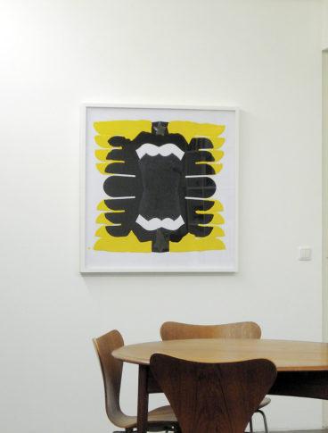 <i>Intrepet Jack</i><br>Installation view <i>Groß. Dunkel. Stark.</i> Gallery Mirko Mayer Cologne 2006