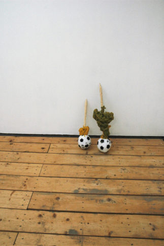 <i>Phift</i><br>Installation view <i>Flexing Brown,</i> ROKEBY Gallery, London 2008
